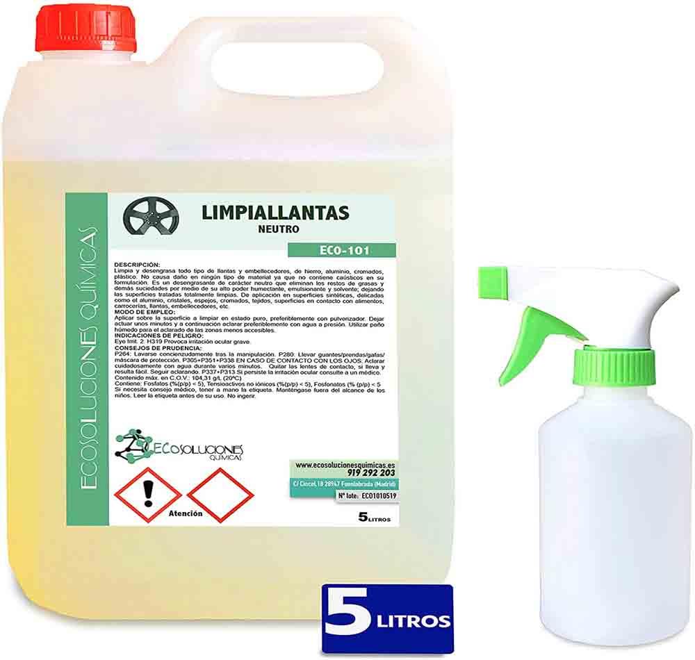 Limpia llantas Ecosoluciones Químicas ECO-101