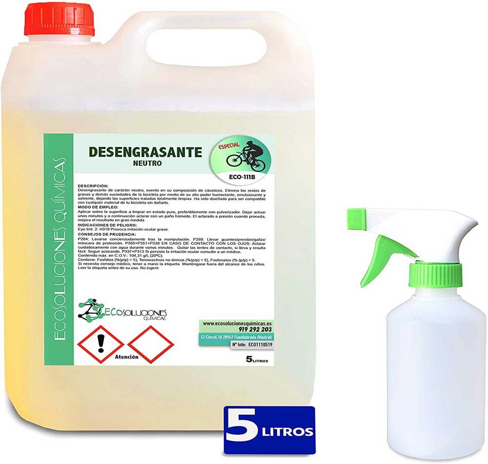 Desengrasante de bicicleta Ecosoluciones Químicas ECO-111
